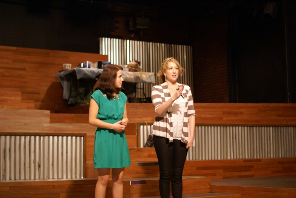 PHOTO FLASH: Broadway's Courtney Balan and Kilty Reidy Teach Master Class at William Peace