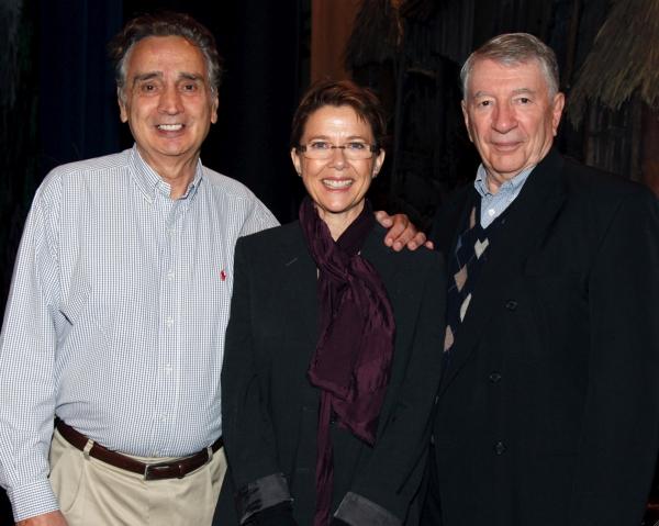 John Bowab, Annette Bening and Martin Wiviott