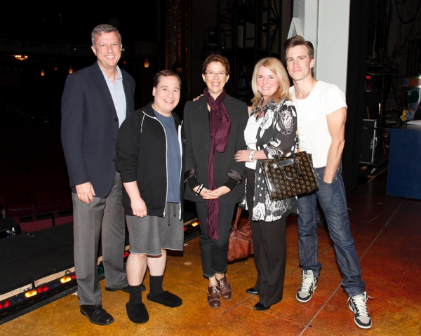 Photo Flash: Annette Bening at THE BOOK OF MORMON Actors Fund Benefit Performance in LA
