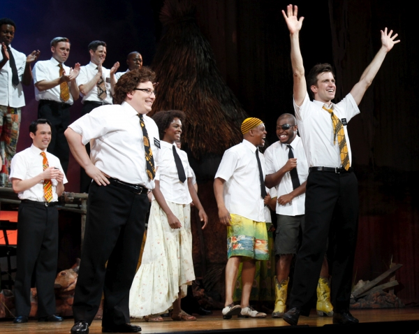 Jared Gertner, Gavin Creel and cast welcome and thank the audience for attending the benefit performance