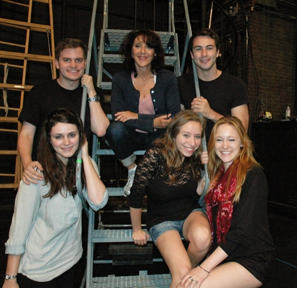 Andrea Martin and Company  at Sneak Peek at Andrea Martin, Patina Miller and More in Rehearsals for A.R.T's PIPPIN