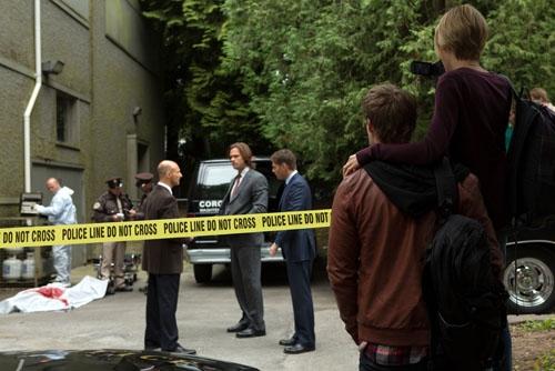Jensen Ackles, Jared Padalecki  at First Look at SUPERNATURAL's Upcoming Episode, 'Bitten,' 10/24