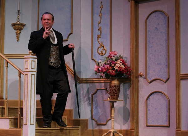 BWW Reviews: Creede Reperatory's Presents Fantastic Whimsy Mark Twain's IS HE DEAD?