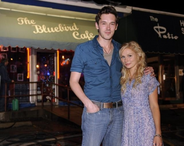 SAM PALLADIO, CLARE BOWEN    at Behind-the-Scenes Peek at NASHVILLE's Pilot!
