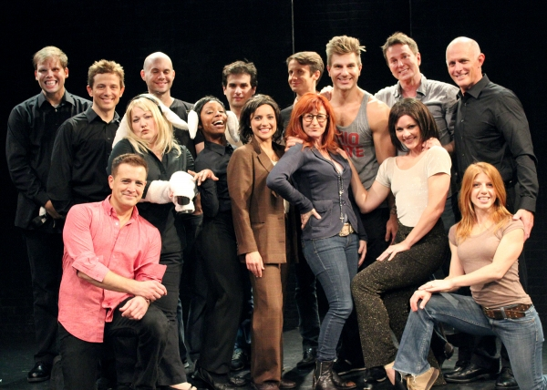 John Billingsly, Audrey Wasilewski and Vicki Lewis and the Cast of SILENCE! The Musical