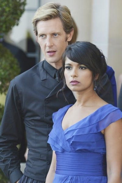 GABRIEL MANN, DILSHAD VADSARIA    at First Look at REVENGE's 11/4 Episode 'Illusion'