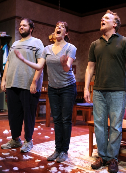 Photo Coverage: Inside FALLING's  Opening Night Curtain Call