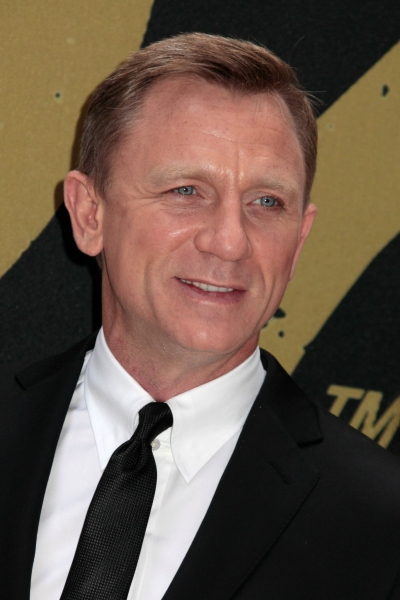 Daniel Craig at Craig, Bardem & More in SKYFALL Photo Call