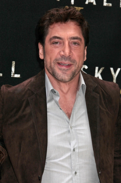Javier Bardem at Craig, Bardem & More in SKYFALL Photo Call