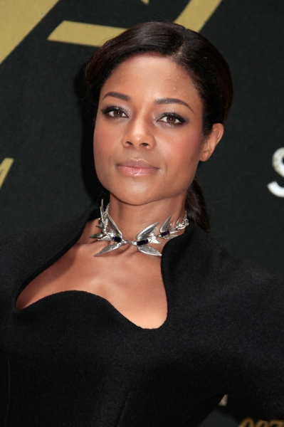 Naomie Harris at Craig, Bardem & More in SKYFALL Photo Call