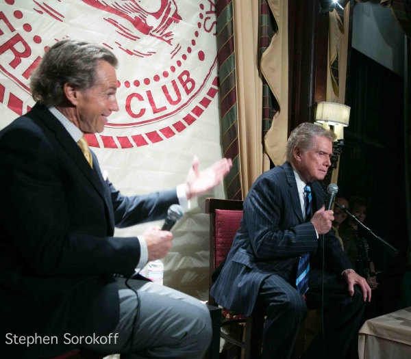 Bill Boggs & Regis Philbin at Regis Philbin Brings 'How I Got This Way' to Friars Club