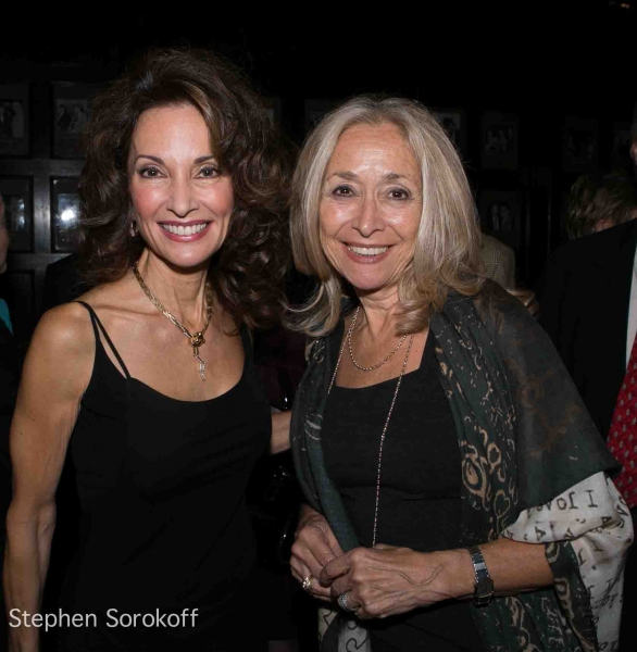 Susan Lucci & Eda Sorokoff at Regis Philbin Brings 'How I Got This Way' to Friars Club
