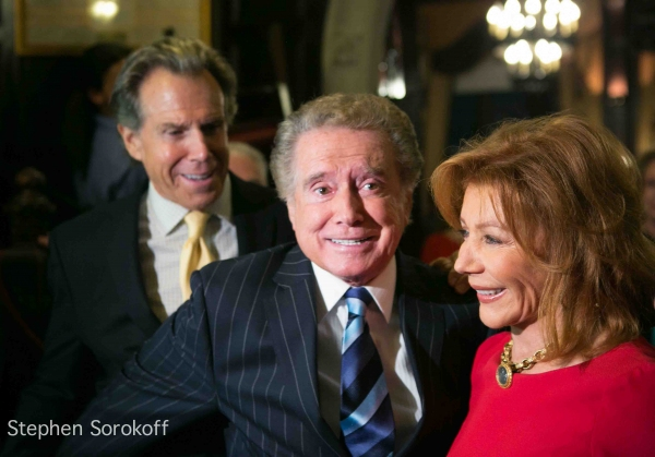 Bill Boggs, Regis Philbin, Joy Philbin at Regis Philbin Brings 'How I Got This Way' to Friars Club