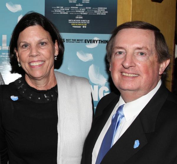 Producer Terry Schnuck & wife Sally  Photo