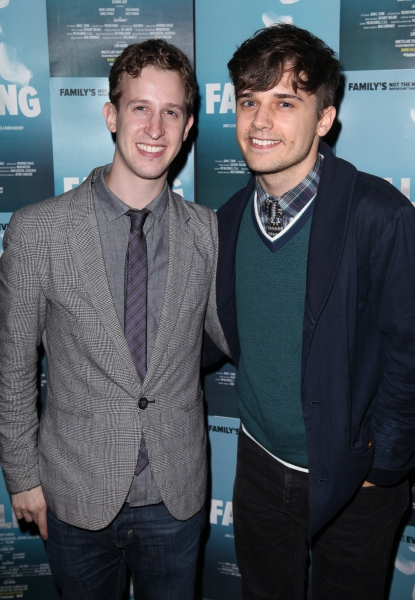 Alex Wyse and Andy Mientus