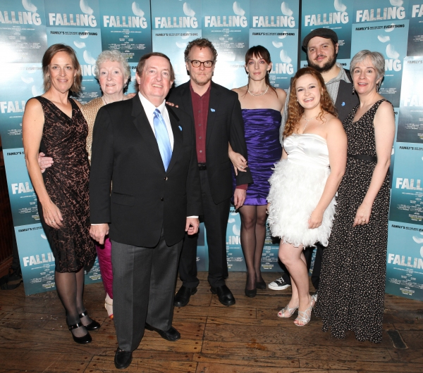 Director Lori Adams, Celia Howard, Producer Terry Schnuck, Daniel Pearce, Julia Murney, Jacey Powers, Daniel Everidge and Playwright Deanna Jent