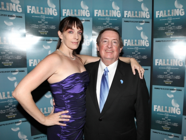 Julia Murney and Producer Terry Schnuck  Photo