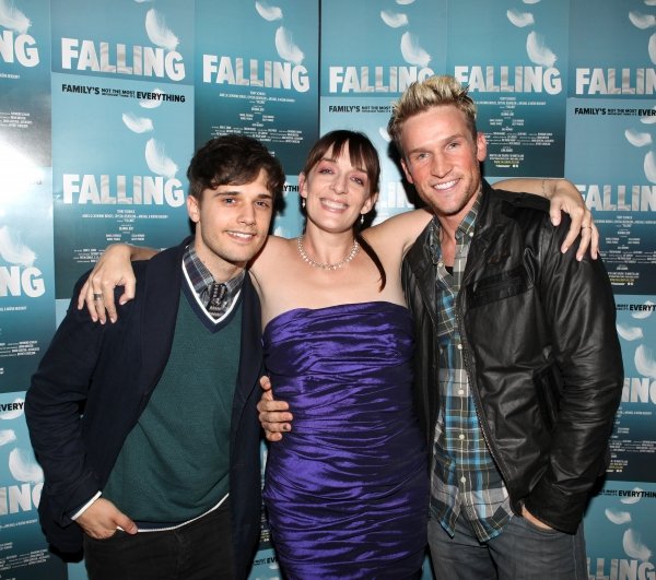 Andy Mientus, Julia Murney and Claybourne Elder