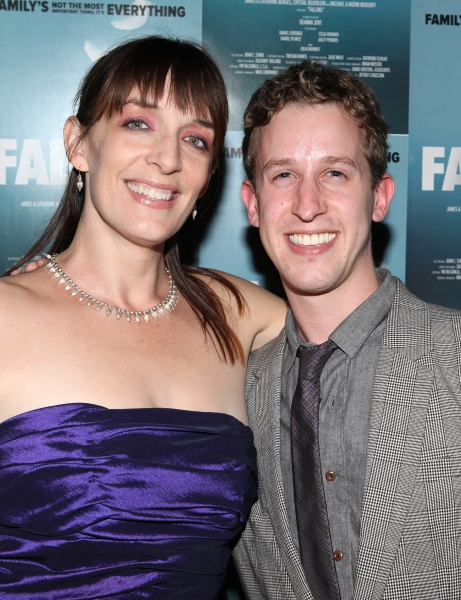 Julia Murney and Alex Wyse