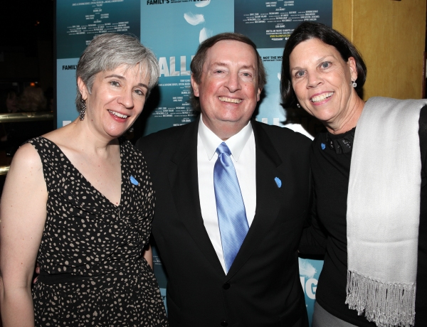 Playwright Deanna Jent, Producer Terry Schnuck & wife Sally