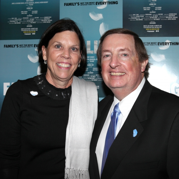 Producer Terry Schnuck & wife Sally