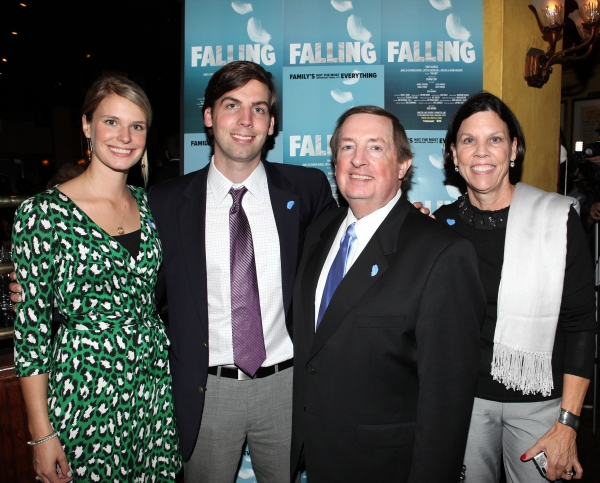Producer Terry Schnuck with wife Sally and Family