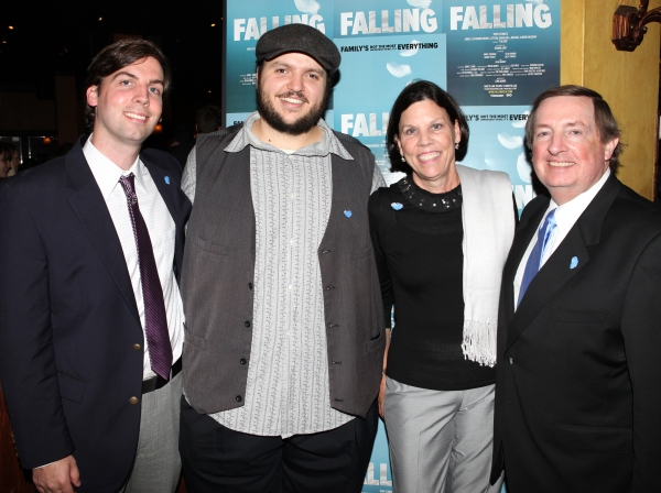 Daniel Everidge and Producer Terry Schnuck & family 