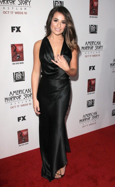 Lea Michele 'American Horror Story' Season 2 premiere at Paramount Studios, Los Angeles (Photo by Jim Smeal / BEImages) at Fashion Photo of the Day 10/16/12 - Lea Michele