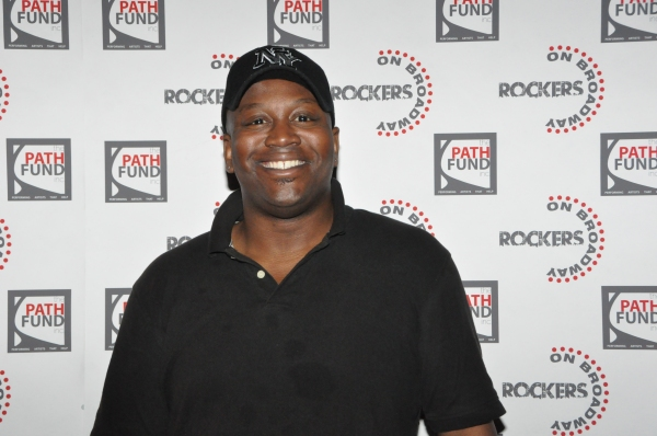 Tituss Burgess at John Tartaglia, Ryann Redmond, and More at ROCKERS ON BROADWAY- Arrivals!