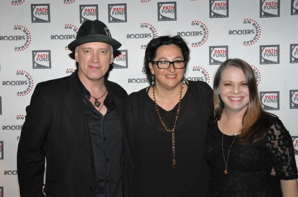 Donnie Kehr, Annette Tanner and Cori Gardner at John Tartaglia, Ryann Redmond, and More at ROCKERS ON BROADWAY- Arrivals!
