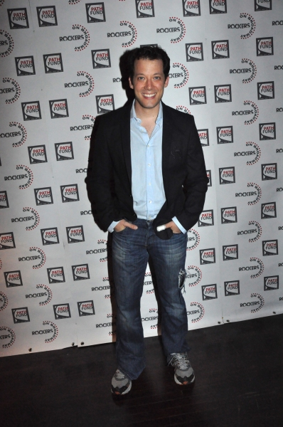 John Tartaglia at John Tartaglia, Ryann Redmond, and More at ROCKERS ON BROADWAY- Arrivals!