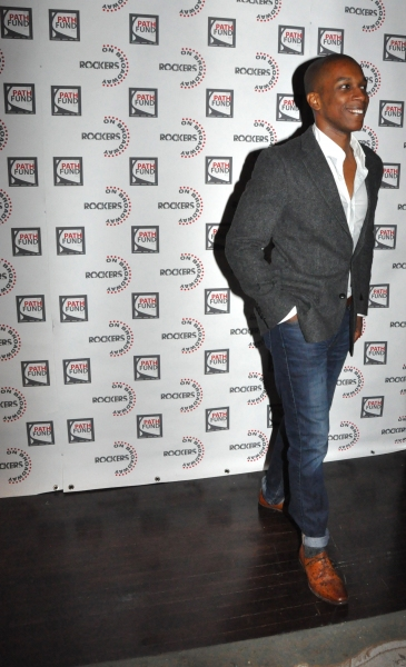 Leslie Odom Jr. at John Tartaglia, Ryann Redmond, and More at ROCKERS ON BROADWAY- Arrivals!