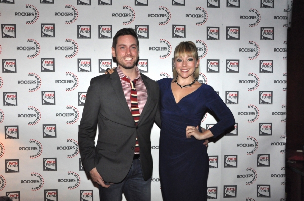 Trapper Felides and Tracy McDowell at John Tartaglia, Ryann Redmond, and More at ROCKERS ON BROADWAY- Arrivals!