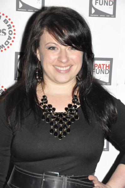 Michelle Kinney at John Tartaglia, Ryann Redmond, and More at ROCKERS ON BROADWAY- Arrivals!