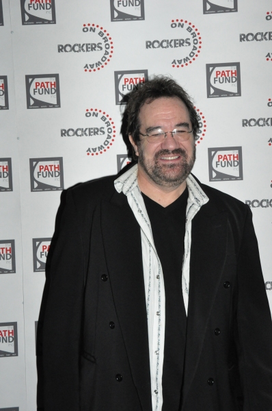 Michael Lanning at John Tartaglia, Ryann Redmond, and More at ROCKERS ON BROADWAY- Arrivals!