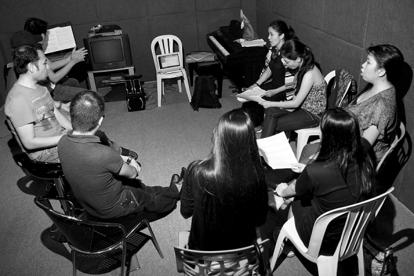 Photo Exclusive: In Rehearsal with the Cast of ANG BAGONG HARANA