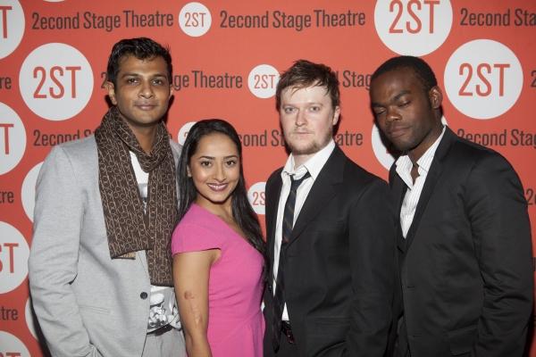 Utkarsh Ambudkar, Nitya Vidyasagar, Steven Boyer and William Jaskson Harper Photo
