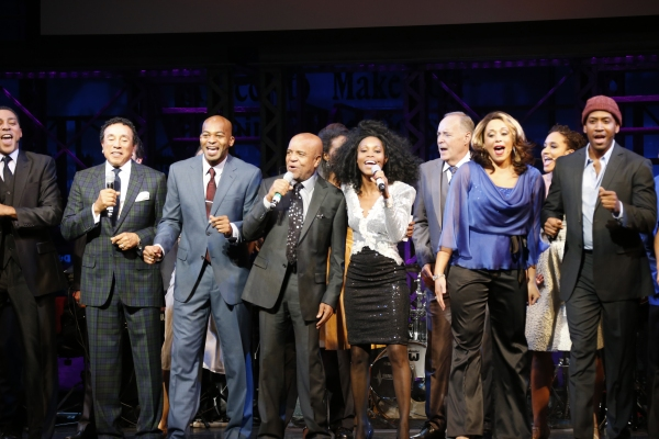 Berry Gordy and cast  at Inside MOTOWN's Launch Event with Berry Gordy, Smokey Robinson, and More!