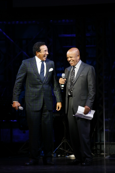 Smokey Robinson and Berry Gordy at Inside MOTOWN's Launch Event with Berry Gordy, Smokey Robinson, and More!