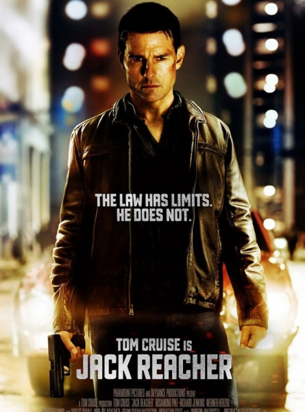 Photo Flash: New Poster for JACK REACHER Starring Tom Cruise
