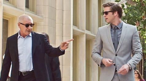 Harrison Ford, Liam Hemsworth,