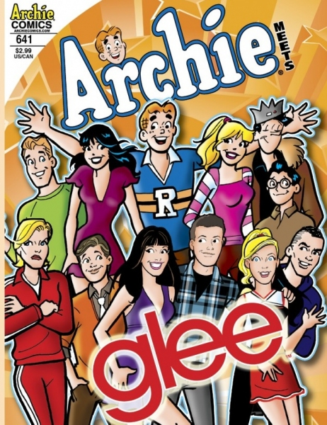 Photo Flash: GLEE Cast Meets the Gang at Archie's Riverdale High!
