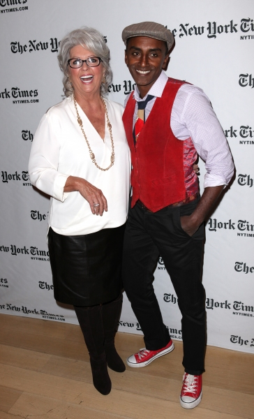 Photo Coverage: Backstage at TimesTalks with Paula Dean and Marcus Samuelsson