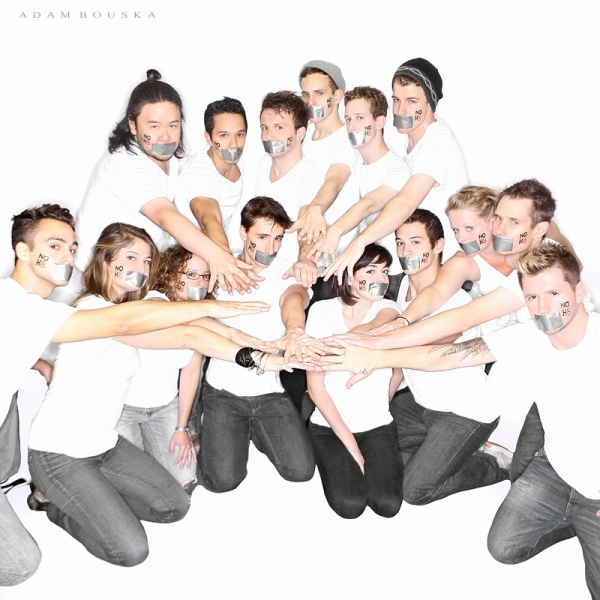 Photo Flash: BARE Cast Supports NOH8 Campaign