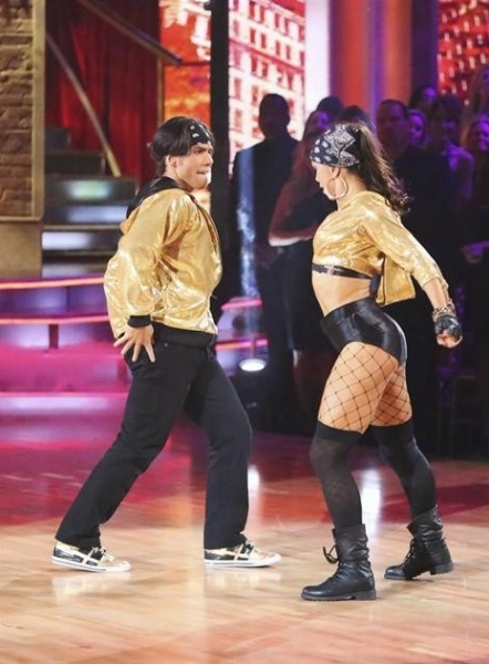 Apolo Anton Ohno, Karina Smirnoff at Highlights from DWTS: ALL STARS