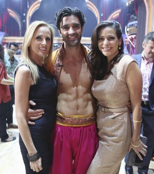 Marlee Matlin, Gilles Marini, Constance Marie at Behind-the-Scenes of ABC's DWTS: ALL STARS