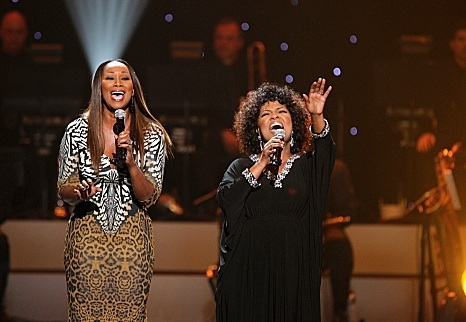 Yolanda Adams and Cece Winans