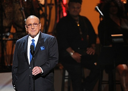 Clive Davis at  First Look - CBS's WE WILL ALWAYS LOVE YOU: A GRAMMY® SALUTE TO WHITNEY HOUSTON