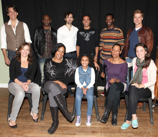 The Cast - Front Row: Alice Ripley, De'adre Aziza, Sumaya Bouhbal, Karen Kandel, Rachel Spencer Hewitt  Back Row: Bob Stillman, K. Todd Freeman, Chris Henry, Jonathan-David,Antwayn Hopper, Sean Allan Krill