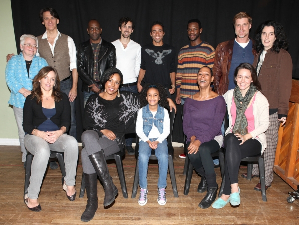 The Company - Front Row: Alice Ripley, De'adre Aziza, Sumaya Bouhbal, Karen Kandel, Rachel Spencer Hewitt  Back Row: playwright Paula Vogel, Bob Stillman, K. Todd Freeman, Chris Henry, Jonathan-David,Antwayn Hopper, Sean Allan Krill and director Tina Lan